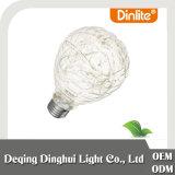 Nuevo estilo de decoración de navidad bombilla LED LED granada antitanque lámparas de alambre de cobre