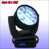 bewegliches Hauptstadiums-Licht des Aura 12wx19 DJ-Geräten-LED