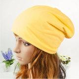 Мода девочек мешковатых хлопка Джерси Slouchy Beanie Red Hat