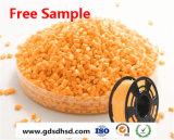 LLDPE/HDPE/LDPEのための農業の根おおいの薄膜の黄色Masterbatch