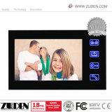 Telefono del portello dell'impronta digitale da 7 pollici video per il citofono della costruzione
