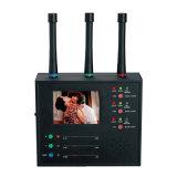 無線カメラの探知器の無線カメラのスキャンナーの専門の無線カメラのハンターのモニタの表示は多重無線カメラレンズのファインダーを検出する
