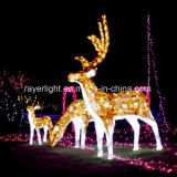 LED clásico motivo decorativo ciervo luces Factory