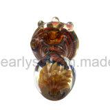 قصع مصغّرة زجاجيّة يدخّن تبغ ينقل يد ملعقة أنابيب زجاجيّة ([إس-هب-489])