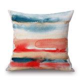 Cassa del cuscino stampata tela del cotone della coltura di arte astratta senza farcire (35C0237)