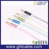 3.5Mm a 3.5mm Cable de audio de la cabeza de metal