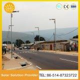 Marcação RoHS Aprovado Rua Solar Sistema de Iluminação Solar das luzes de estrada para luzes de estacionamento