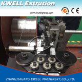 Fil d'acier renforcé en PVC flexible transparent de ligne de production/Machine d'Extrusion