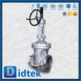 Válvula de puerta cuneiforme de levantamiento del vástago del acero de aleación de Didtek