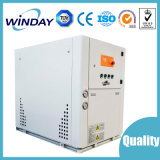 Refrigerador industrial refrigerado por agua en sistema de calefacción