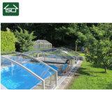 De verticale Intrekbare Dekking van het Zwembad met het Frame van de Legering van het Aluminium