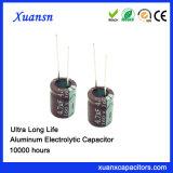 4.7UF 160V 10*13mm Elektrolytische Condensator 10000hours