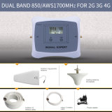 Smart 850 double bande/aws1700MHz 2g 3G Mobile 4G Signal Booster