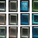 blocchetto di vetro variopinto di 190*190*80mm