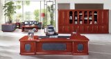 Büro-Möbel-Luxuxbüro-hölzerner vollziehendschreibtisch