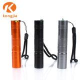 Bewegliche nachladbare Aluminiumhelle Taschenlampe der taschen-LED
