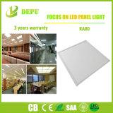 Marco Blanco/Plata Non-Flicker Panel LED Luz Buen Material con alta eficiencia 40W 110lm/W con EMC+LVD