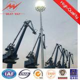 mástil de acero galvanizado el 15m-20m poste ligero