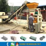 Kleiner Ziegelstein-Maschinen-/Sand-Block des Handbuch-Qt40c-1 hohler, der Maschine herstellt