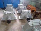 Máquina de granalhagem vestindo conduzido turbinas do tipo de rolete