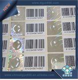 Het Etiket van het Hologram van de Veiligheid van de Code van Qr