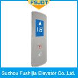 Elevatore del passeggero con la decorazione luminescente acrilica del comitato