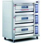Luxe 3 Dek 6 de Oven van het Gas van het Dienblad van Fabriek (sinds 1979)