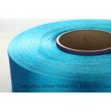 Fio de filo FDY de poliéster com tecidos de poliéster Lianfang com trilobal 150d / 48f brilhante