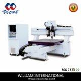 Maquinaria da estaca do CNC para o corte luminoso acrílico dos caráteres (VCT-TM2513H)