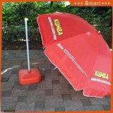 昇進イベントの使用法の防風の携帯用折るビーチパラソル