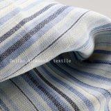 stof van de Kleding van het Overhemd van de Streep 100%Linen de Garen Geverfte