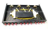 Gpz/Sp-1u-24pの固定ラックマウントの光ファイバパッチ・パネル