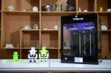 Grande impressora 3D funcional educacional do tamanho 27X28X30cm da impressão multi