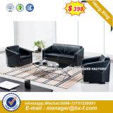 Oficina utilizó el marco de metal tejido Ocio sofá de cuero (HX-8N0803)
