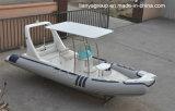 Dos barcos infláveis do reforço de Liya 20feet pesca inflável rígida dos barcos