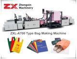Sacchetto non tessuto che fa macchina per il taglio Zxl-A700 del sacchetto W della maglietta