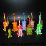 Neuer Glashandrohr-Großverkauf-Huka-Tabak-Glassilikon-Rohre, die Wasser-Rohr rauchen
