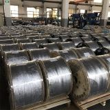fil en aluminium plaqué de cuivre de 4.98mm CCA-10A pour le câble coaxial de liaison