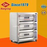 De commerciële Oven van het Baksel, 3 Dek 6 de Oven van het Gas van het Dienblad voor Brood