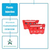 Côté personnalisé d'injection de l'eau de chantier de construction d'équipements de circulation du moulage en plastique de Ratational de bord