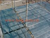 Fábrica estándar vertical galvanizada de la soldadora del andamio de Ringlock