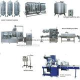Compléter la machine à emballer remplissante potable emballée d'eau de source minérale pour 24-24-8
