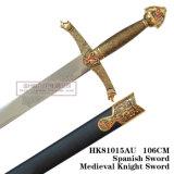 As espadas medievais Swords105cm europeu HK81015au da espada do lobo