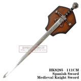 Espadas medievais da decoração das espadas das espadas da película 111cm HK8285