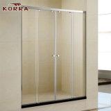 (K-720) Porta de chuveiro deslizante / porta de tela de vidro