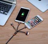 Наградное качество 4 в 1 множественном разъеме переходники зарядного кабеля USB с Pin 8 Pin/30/микро- USB/миниыми портами USB