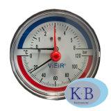 산업 사용법 다이얼. 63mm 압력 온도 온도계
