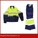 広州の工場はカスタム設計する方法安全作業ユニフォーム(W44)を