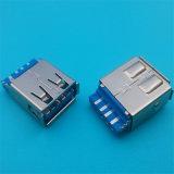 Schakelaar USB 3.0 van het Type van soldeersel de Eind Blauwe Mini