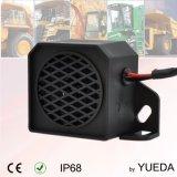 шум 12-24V 102dB белый обращая сигнал тревоги для тележек